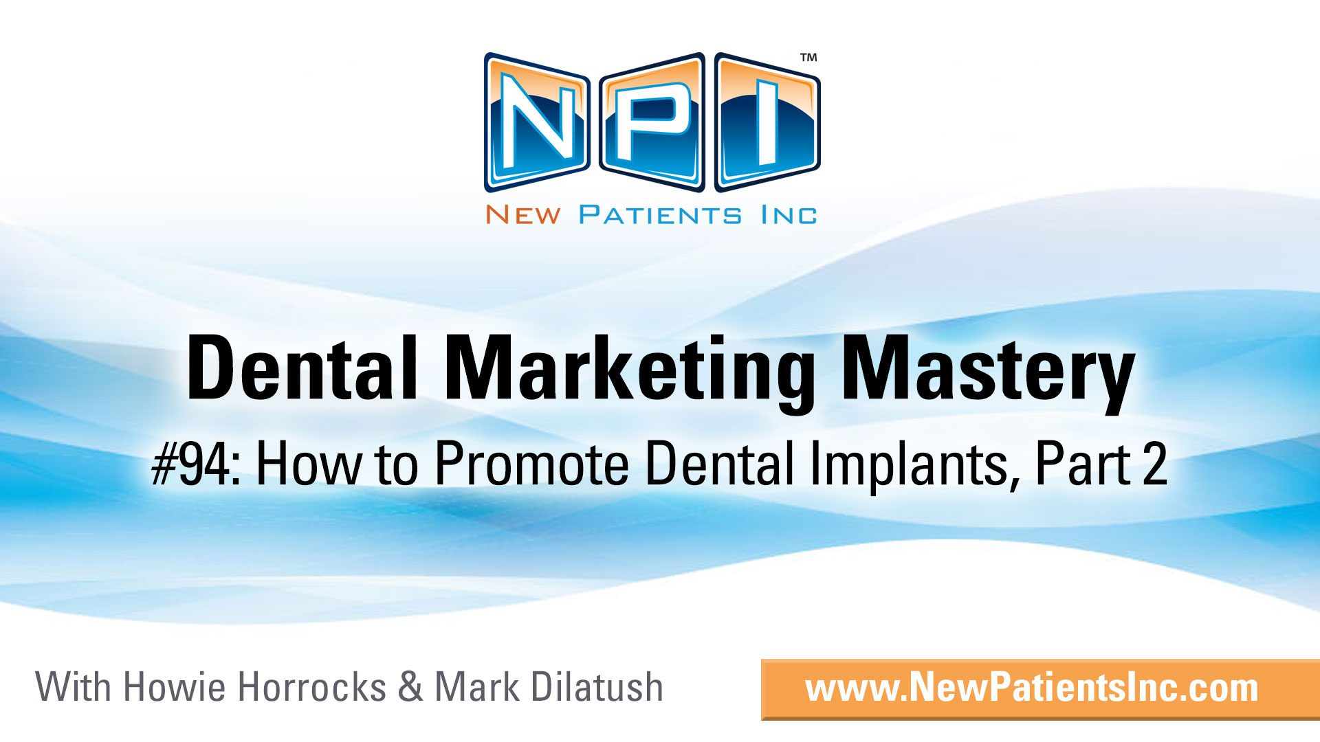 How To Start Dental Implant Promotion