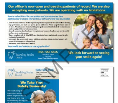 Care Kit Postcard to Existing Patients
